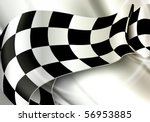 background horizontal checkered ... | Shutterstock .eps vector #56953885