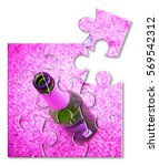 bottle of beer resting on the... | Shutterstock . vector #569542312