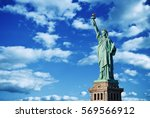 statue of liberty  new york  usa | Shutterstock . vector #569566912