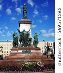 Small photo of Monument of an Alexander II. The Senate Square, Helsinki, Finland