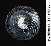 reworked modern architecture... | Shutterstock . vector #569576422