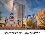 indianapolis. cityscape image... | Shutterstock . vector #569588956
