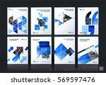 business vector template mega... | Shutterstock .eps vector #569597476