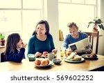 family people feelings... | Shutterstock . vector #569602252