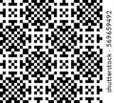 vector seamless pattern.... | Shutterstock .eps vector #569659492
