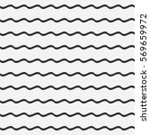 wave lines seamless pattern.... | Shutterstock .eps vector #569659972