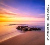 Rocks In Cala Violina Beach In...