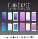 set of covers and backgrounds... | Shutterstock .eps vector #569674285