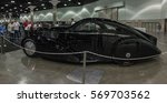 Small photo of Los Angeles, USA - January 28, 2017: Rolls-Royce Phantom I Aerodynamic Coupe on display during The Classic Auto Show at the Los Angeles Convention Center.