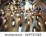 traffic jam   blur image.   Shutterstock . vector #569737285