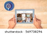 shop with style homepage... | Shutterstock . vector #569738296
