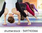 fitness  sport  training and... | Shutterstock . vector #569743366