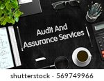 audit and assurance services... | Shutterstock . vector #569749966