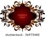 decorative frame   Shutterstock .eps vector #56975485
