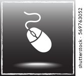 Computer Mouse Sign Icon ...