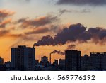 Pollution Over Moscow In The...