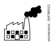 factory plant industrial... | Shutterstock .eps vector #569780512