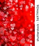 abstract background love... | Shutterstock . vector #569799436
