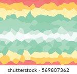 abstract random polygons... | Shutterstock .eps vector #569807362