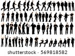 vector  isolated  silhouette of ... | Shutterstock .eps vector #569818582