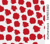 seamless pattern with brush... | Shutterstock .eps vector #569853382