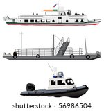 Passenger Ship  Small Ferry...