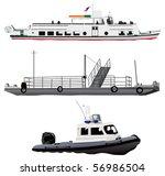 Passenger Ship  Small Ferry...