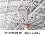 steel structures metal... | Shutterstock . vector #569866582