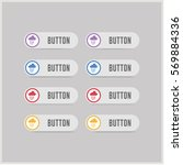 cloud raining icon | Shutterstock .eps vector #569884336