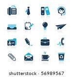 office   business    azure... | Shutterstock .eps vector #56989567