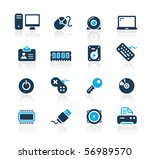 computer   devices    azure... | Shutterstock .eps vector #56989570