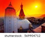 Swayambhunath Stupa In An...