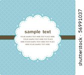 template frame design for... | Shutterstock .eps vector #56991037