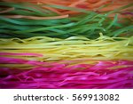 Colorful Uncooked Italian Pasta