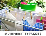 Freshly Washed Clothes Drying...