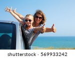 family on vacation. summer... | Shutterstock . vector #569933242
