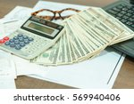 finance concept   the united... | Shutterstock . vector #569940406