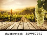 table background and free space ... | Shutterstock . vector #569957392