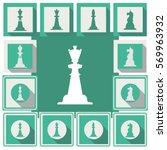 chess sign | Shutterstock .eps vector #569963932