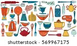 Set Of Kitchenware And Utensils ...