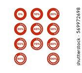 progress icon | Shutterstock .eps vector #569972698