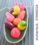 deletable imitation fruits ... | Shutterstock . vector #570000226