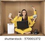 Multitasking Businesswoman...