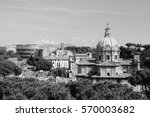 Rome  Italy   Skyline With...