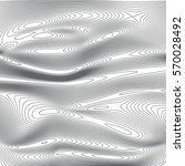 Abstract Silk  Grey Waves On...