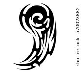 tattoo tribal vector designs... | Shutterstock .eps vector #570028882