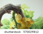 Yellow Grape Chardonnay Oil On...