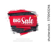 sale banner template design | Shutterstock .eps vector #570043246