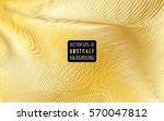 abstract golden background with ... | Shutterstock .eps vector #570047812