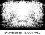 grunge black and white urban... | Shutterstock .eps vector #570047962
